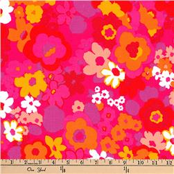 Kaufman Laurel Canyon Mod Floral Retro