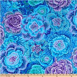 Kaffe Fassett Collective Brassica Blue Fabric