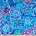 Kaffe Fassett Collective Brassica Blue