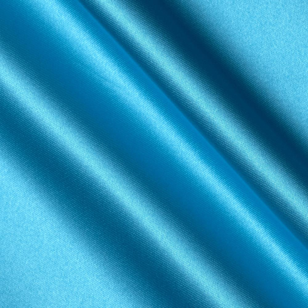 Bridal satin turquoise discount designer fabric for Satin fabric