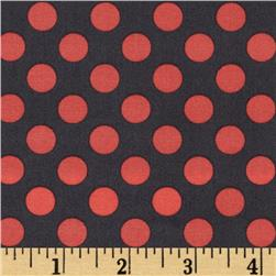 Michael Miller Ta Dot Coral Fabric