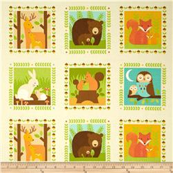Forest Parade Organic Animal Patches