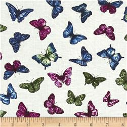 Butterfly Forest Flight White/Multi