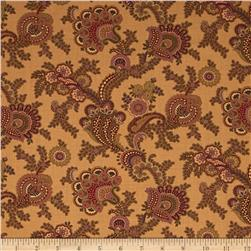 Moda Collections for a Cause Mill Book 1892 Flourish Tan