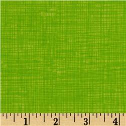 Timeless Treasures Sketch Flannel Neon Green