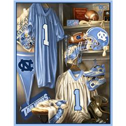 Collegiate Fleece Locker Room Panel University of North Carolina