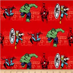 Marvel Comics Price & Hero Stripe Red