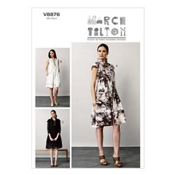 Vogue Misses' Dress Pattern V8876 Size B50