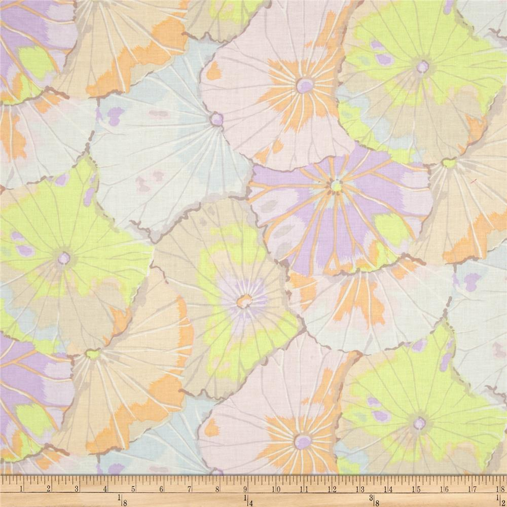 Kaffe Fassett Collective Lotus Leaf Pastel