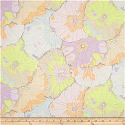 Kaffe Fassett Collective Lotus Leaf Pastel Fabric