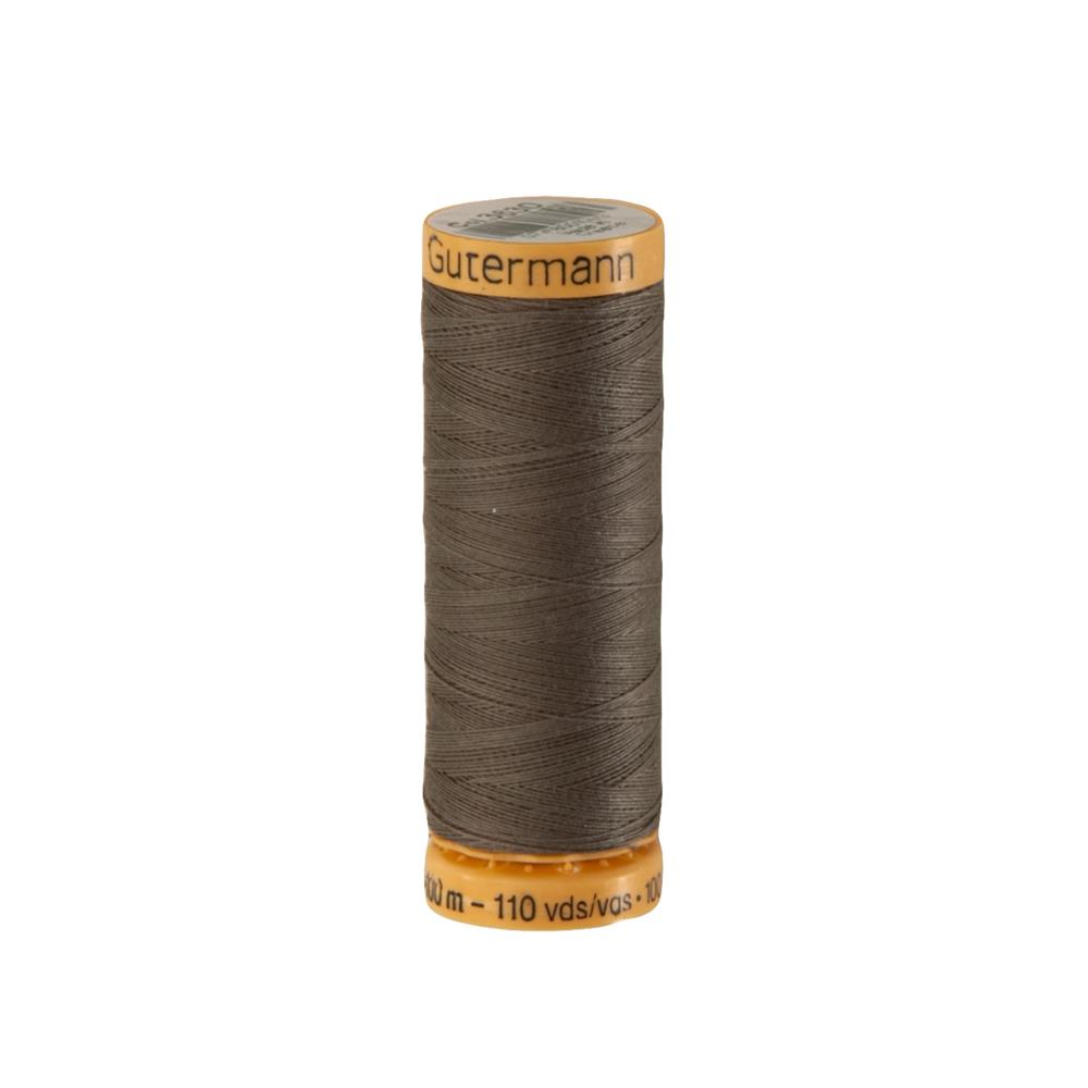 Gutermann Natural Cotton Thread 100m/109yds Cocoon Brown