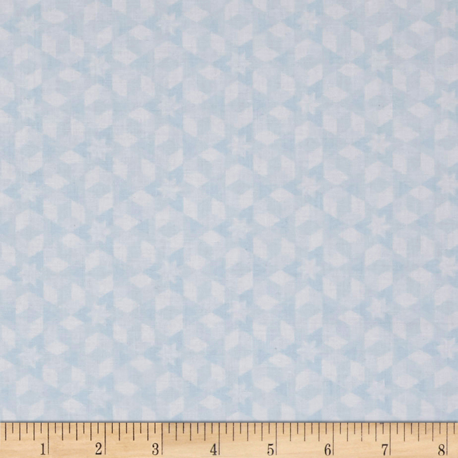 Image of Alison Glass Diving Board Starfish Mist Fabric