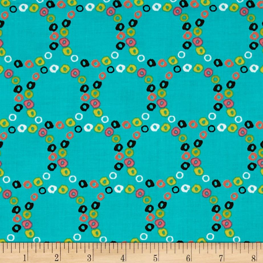 Windham Nod to Mod Merry Go Round  Teal
