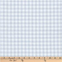 Kaufman Baby Basics Double Gauze Check Grey