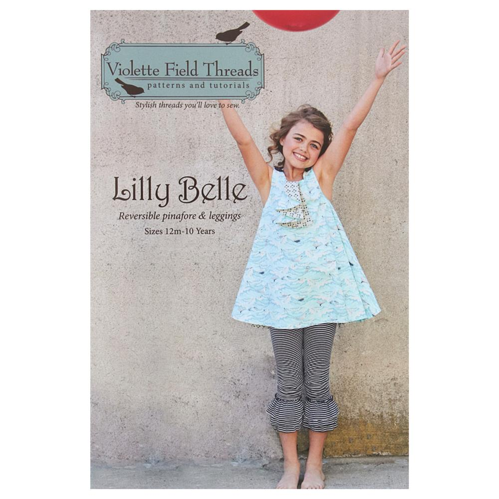 Violette Field Threads Lilly Belle Pinafore & Leggings
