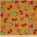 Ink & Arrow Paloma Butterflies Orange