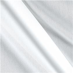 Nylon Activewear Knit Solid White