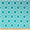 Shannon Premier Prints Dolce Vita Minky Cuddle Oceano Teal/Snow
