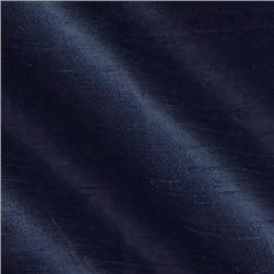 Promotional Dupioni Silk Fabric Classic Navy