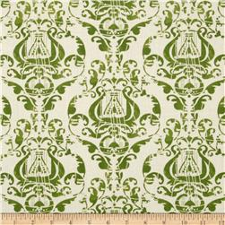 Angel Band Picture Damask Green