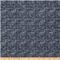Ramtex Berlin Heathered Upholstery Steel Blue