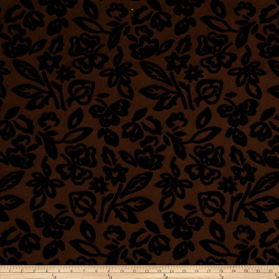 Collier Campbell Zambra Velvet Woodlands Fabric by Fabricut in USA