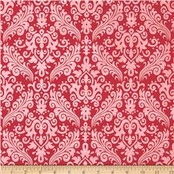 Riley Blake Hollywood Sparkle Damask Red
