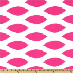 Premier Prints Chipper Candy Pink/White Fabric