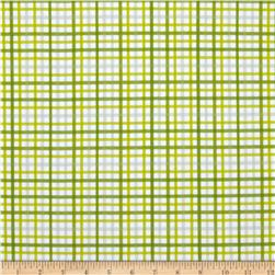 Riley Blake Military Max Flannel Plaid Green Fabric