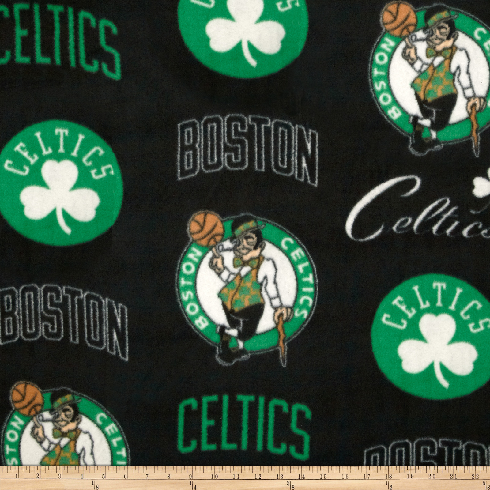 NBA Fleece Boston Celtics Toss Brown Fabric