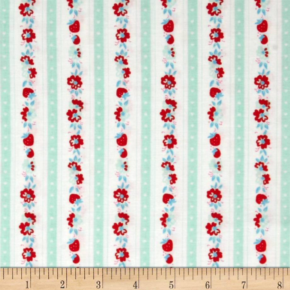 Penny Rose Milk, Sugar & Flower Milk Stripe