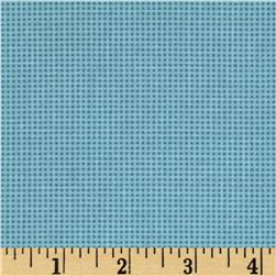 Moda Chirp Chirp Dotted Check Sky Blue