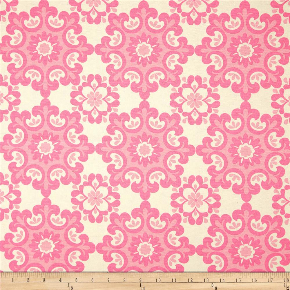 Riley Blake Home Décor Ornate Damask Pink