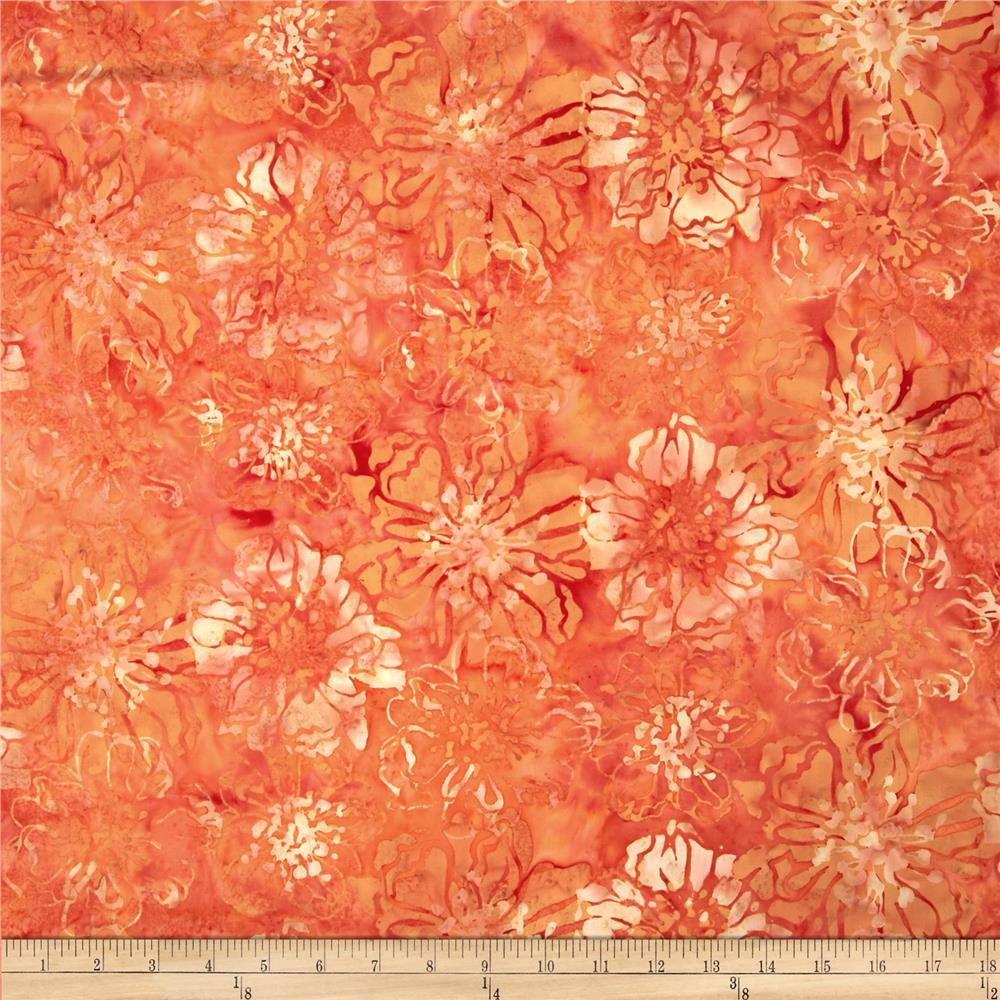 Bali Batiks Cliff Floral November
