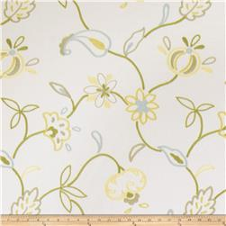 Jaclyn Smith Embroidered Cally Lemon Zest