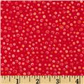 Flannel Spots Red