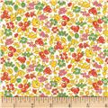 Vintage 30'S Florals Fruity Tutti Orange