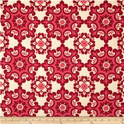 Riley Blake Home Décor Ornate Damask Red