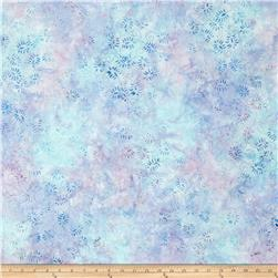 Batavian Batik Dancing Leaves Little Blue/Purple