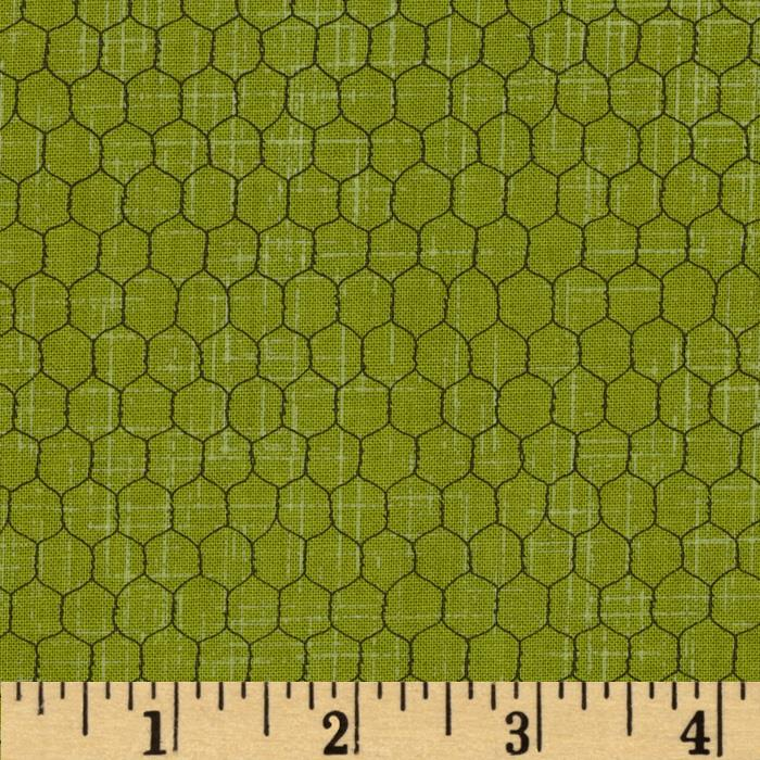 Farm Fresh Chicken Wire Green