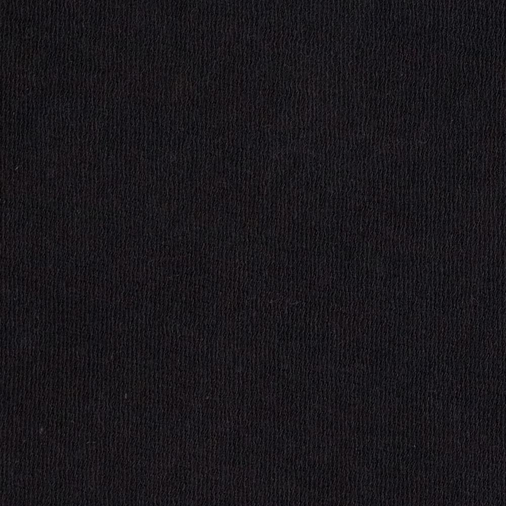 Telio stretch bamboo rayon french terry knit black for Black fabric