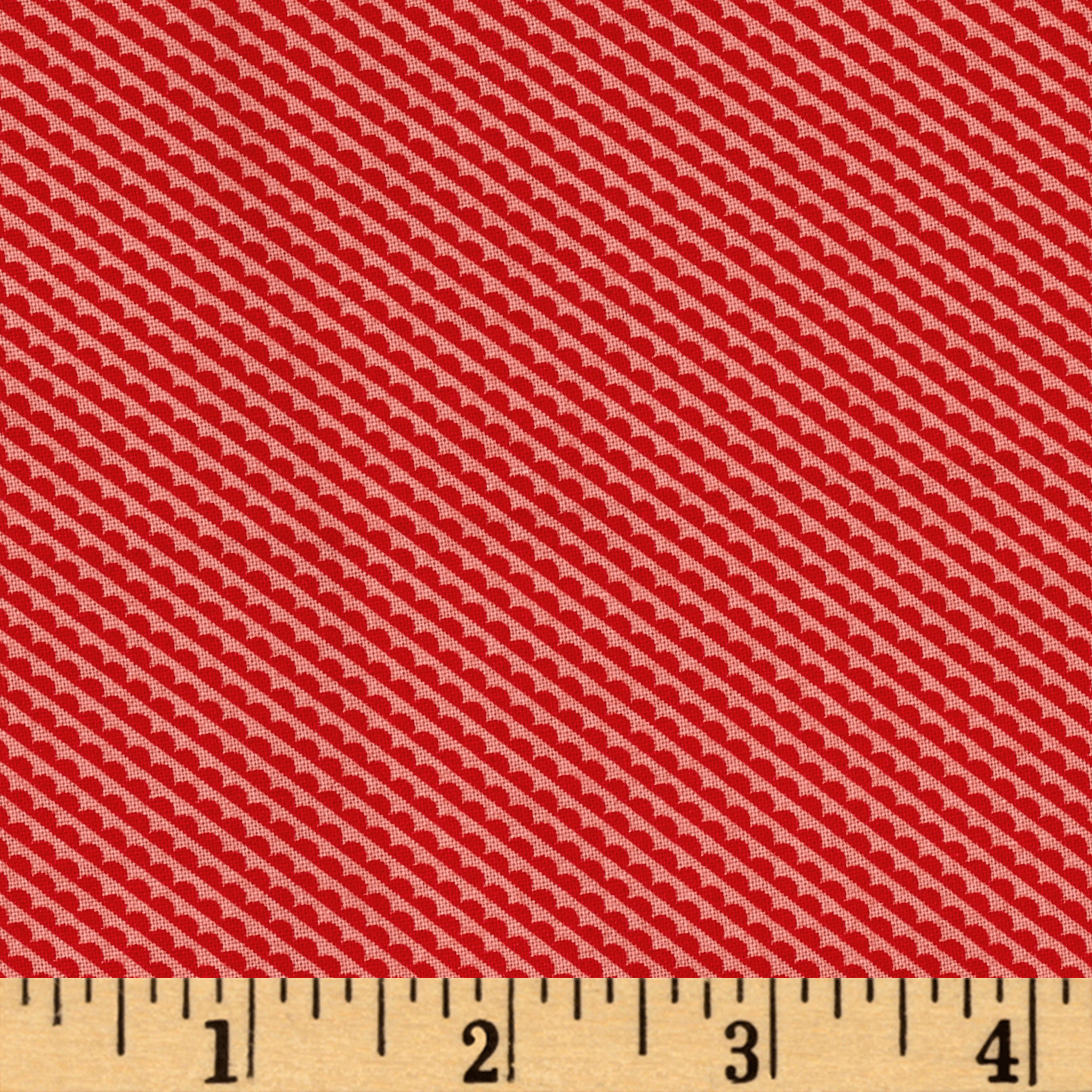 Moda Little Ruby Little Sundae Red/Coral Fabric by Moda in USA