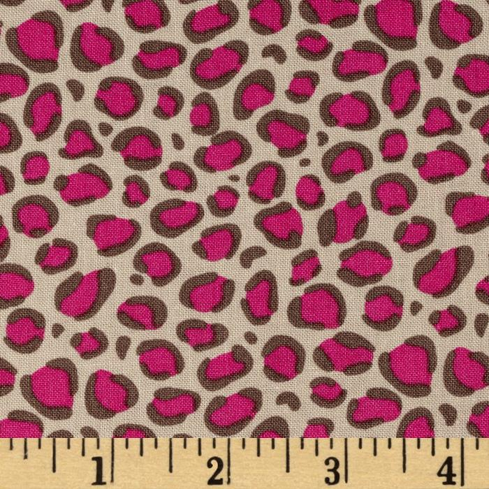 Bright Now Leopard Spots Pink