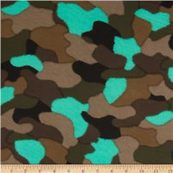 Chiffon Camo Green/Turquoise/Tan/Black