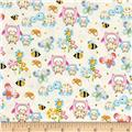 Woodland Cuties Owl & Friends Cream