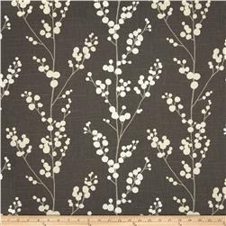 Richloom Evelynne Slub Graphite Home Decor Fabric