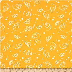 "110"" Wide Quilt Back Fiesta Yellow"