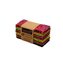 "Timeless Treasures Tonga Batik  6"" Strip Packs Neon"