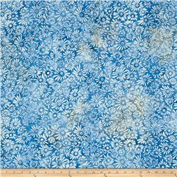 Batavian Batiks Flower Field Light Blue