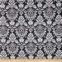 Sundial Indoor/Outdoor Damask Black/Natural